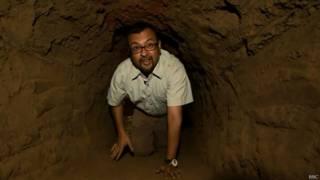 संजॉय मजूमदार, सुरंग के अंदर