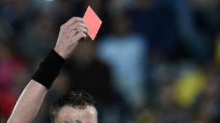 Refree Red Card