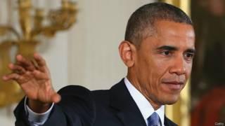 Барак Обама 5 ноября 2014 года