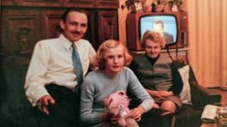 Daniela Walther anne ve babasıyla