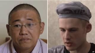 Кеннет Бэй и Мэтью Миллер (граждане США, освобожденные из заключения в КНДР 8 ноября 2014 г.)