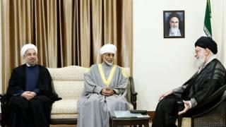 سلطان قابوس در تهران
