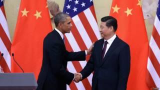 Barack Obama e Xi Jinping (Foto: Getty)