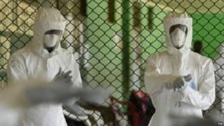 इबोला मौत