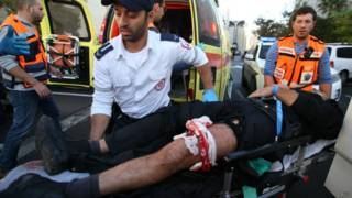 Ataque em Jerusalém nesta terça (AFP)