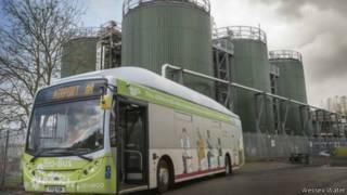 「人類排洩物」能源公汽