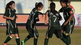 पाकिस्तानी महिला फ़ुटबॉलर