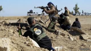 Abasirikare ba Irake bahanganye na IS mu ntara ya Anbar
