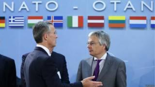 Генеральный секретарь НАТО и министр иностранных дел Бельгии