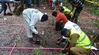 Katon ramo da gawarwaki a Borno