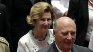 King Harald V of Norway_2 Dec 2014_EPA_Rangoon University