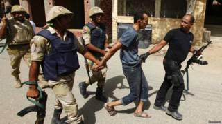 Подозреваемый в расправе в деревне Кердаса