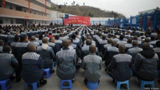 Заключенные в Китае готовятся к празднованию Нового года