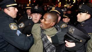 एरिक गार्नर मौत, अमरीका विरोध प्रदर्शन