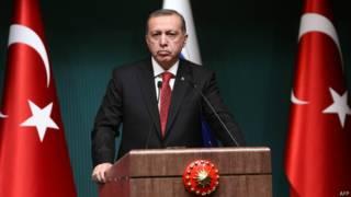 तुर्की के राष्ट्रपति रैजप तायिप एर्दोऑन