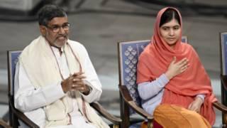 Малала Юсуфзай и Кайлаш Сатиартхи