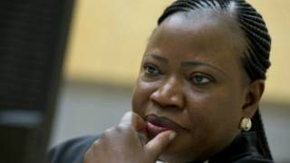 Le transfert du suspect est un important développement a déclaré Fatou Bensouda, procureur de la CPI.