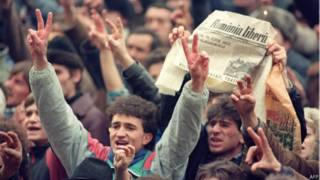 रोमानिया में 1989 की क्रांति में शामिल आम लोग