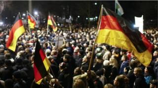 जर्मनी में इस्लाम विरोधी पेगिडा आंदोलन