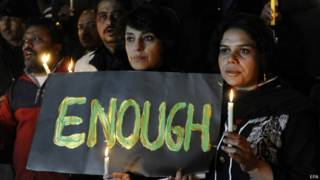 Protesto no Paquistão / Crédito: EPA