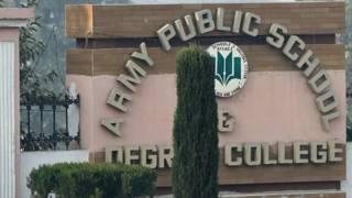 आर्मी पब्लिक स्कूल, पेशावर, पाकिस्तान