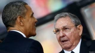 Обама и Кастро