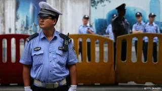 चीन पुलिस