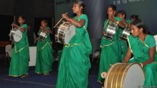 पटना, बिहार में महिलाओं का बैंड