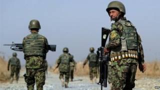 Военнослужащие НАТО в Афганистане
