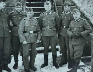 द्वितीय विश्व युद्ध के दौरान जर्मन सैनिक