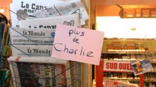 Газетный киоск в Париже