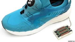 Zapato que genera energía