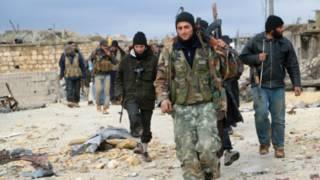 المعارضة المسلحة السورية