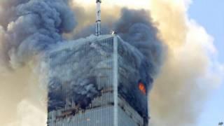 न्यूयार्क के वर्ल्ड ट्रेड सेंटर पर 9/11 को हुआ हमला