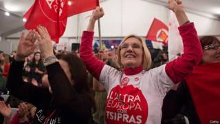 Partidarios Syriza