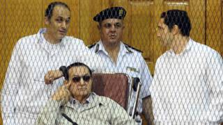 Гамаль (слева) и Алаа (справа) Мубарак