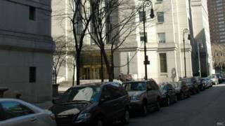 Здание Федерального окружного суда в Нью-Йорке