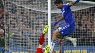 Diego Costa yazize guhonyorana mu rukino ruheruka na Liverpool