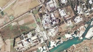 Фото ядерного комплекса со спутника