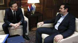 ग्रीस के प्रधानमंत्री एलेक्सिस त्सीपरास