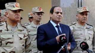 मिस्र राष्ट्रपति, अब्देल फतेह अल सीसी