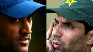 एमएस धोनी, मिस्बाह उल हक़, क्रिकेट