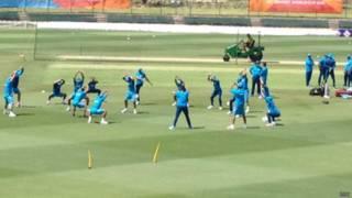 indian team practicing-bbc