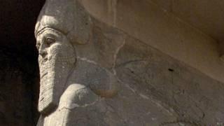 Toro alado en Nimrud