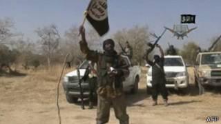 Umutwe wa Boko Haram hari uturere ugenzura mu majyaruguru y'uburasirazuba bwa Nigeria