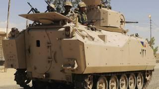 سینا میں فوج
