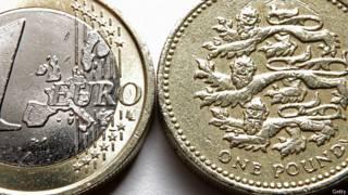 Фунт и евро