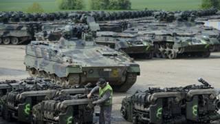Утилизация боевой техники НАТО