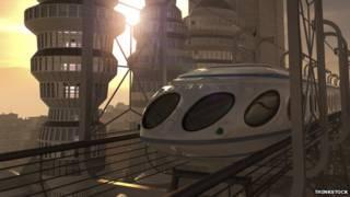 Футуристический проект поезда