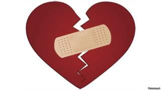Разбитое сердце, склеенное пластырем